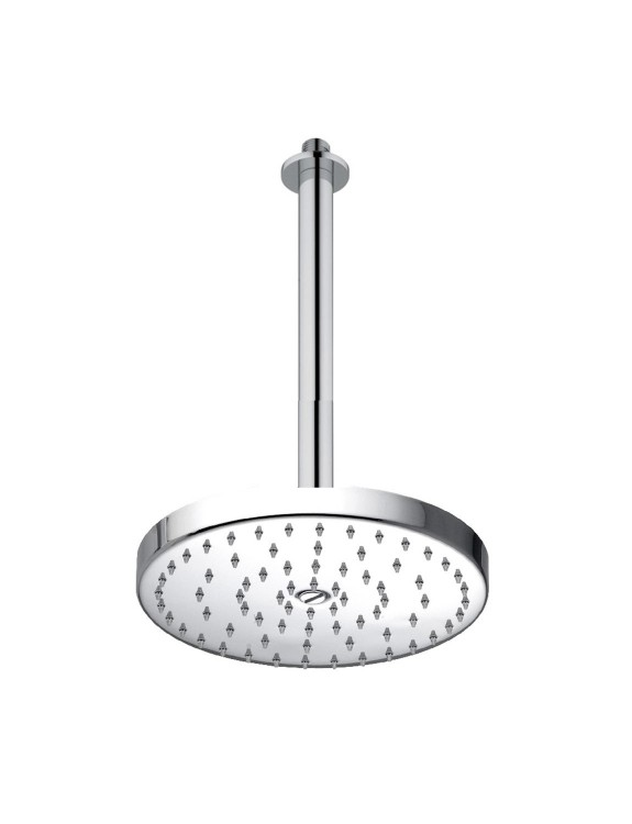 Oversize shower head with ceiling connection