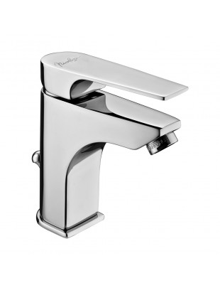 Single-lever wash basin mixer