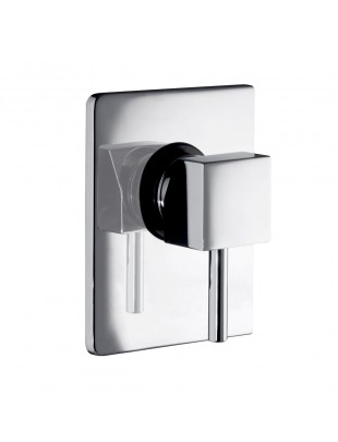 Single-lever for built-in shower