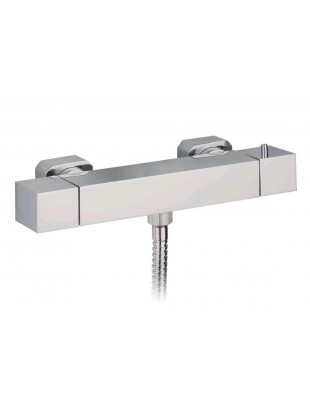 Thermostatic shower mixer, external type modern style
