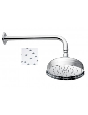 Oversize shower head